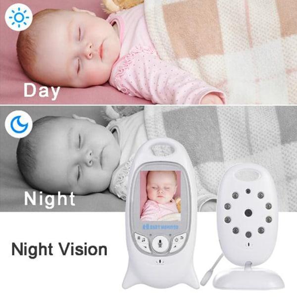 VB601 2.4G Trådlös babyvideomonitor Säker tvåvägsspråk LCD Sc