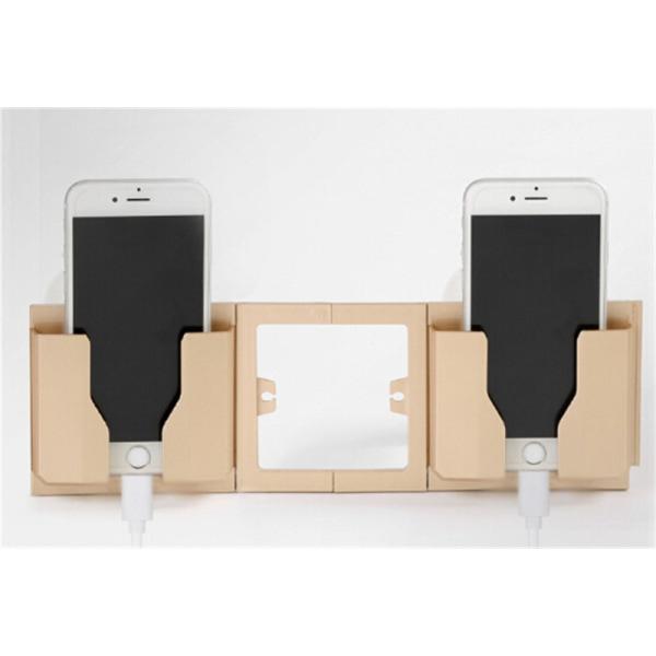 Vägghållare Universell telefonladdare Hållare Socket Charge