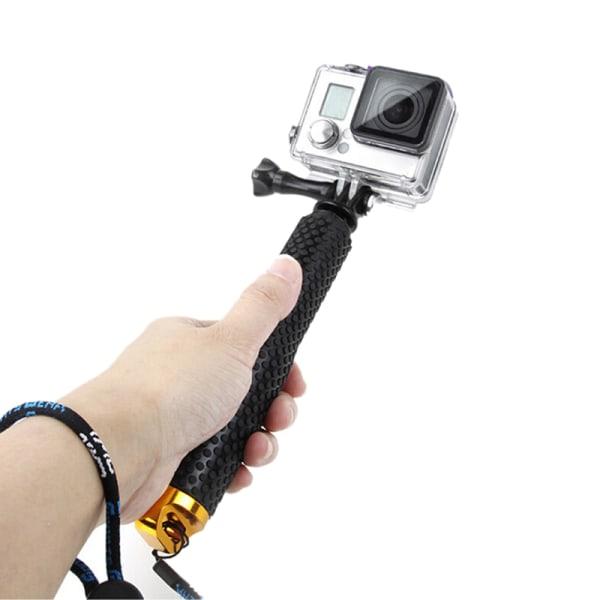 Vattentät handhållen monopod Selfie Stick Pole för Gopro Hero 3