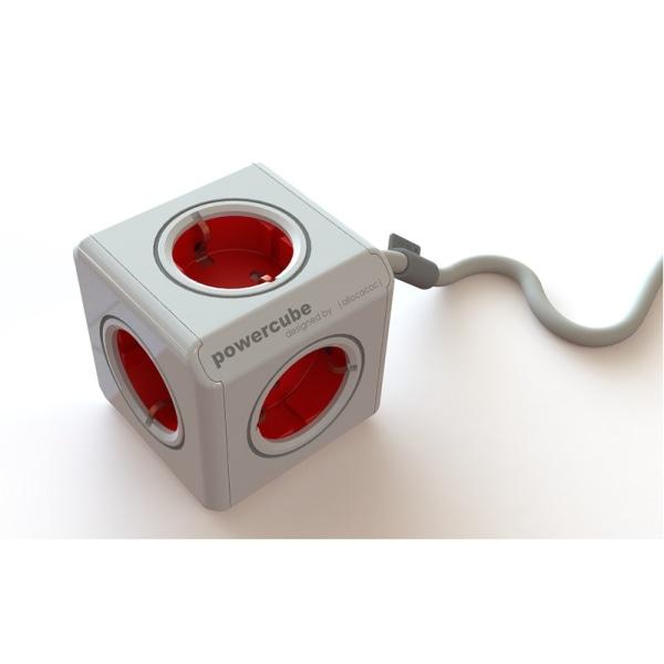PowerCube extended 1,5m RÖD 44-1300 Allocacoc