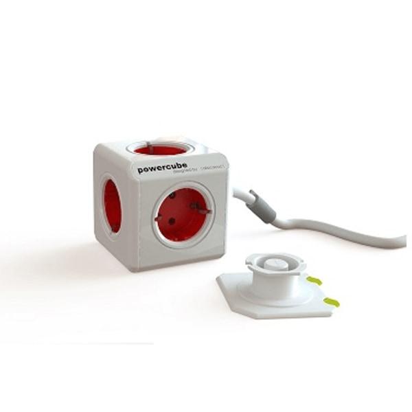 PowerCube extended 3m RÖD 44-1304 Allocacoc 3 m