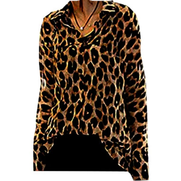 Blus Leopardmönster