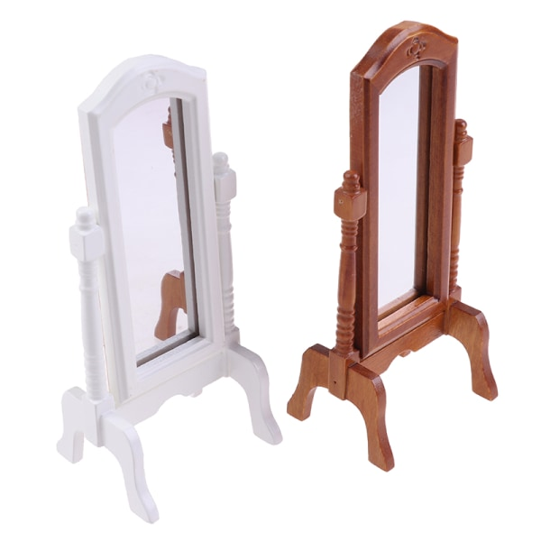 1/12 Dollhouse Miniature Fitting Room Dressing Mirror Model Acc
