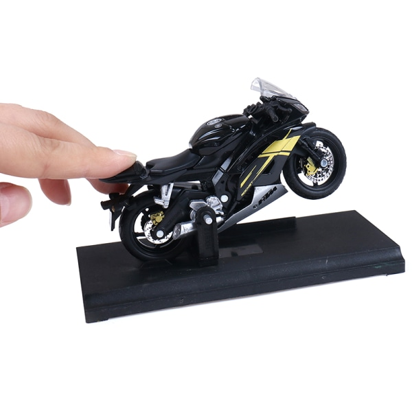 1:18 Yamaha YZF-R6 YZF R6 Blue MOTORCYCLE BIKE DIECAST MODEL TO White