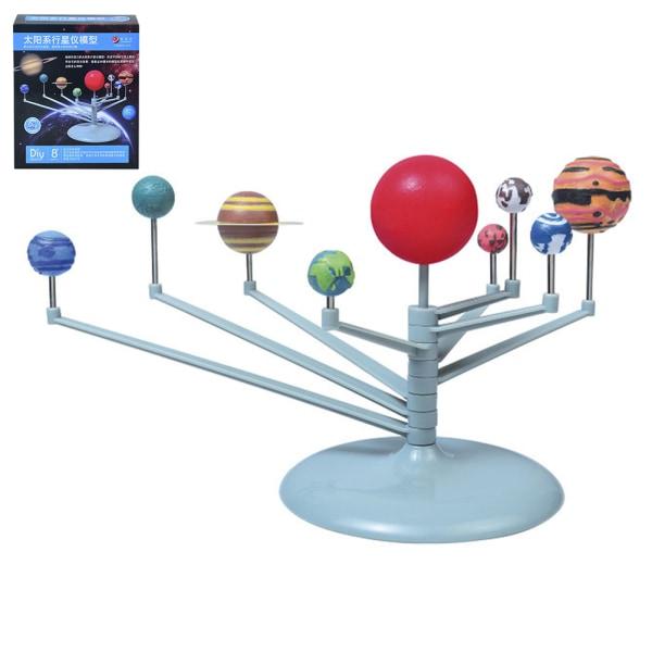 1 st nio planeter leksaker pedagogiska diy utforska solsystemet pa