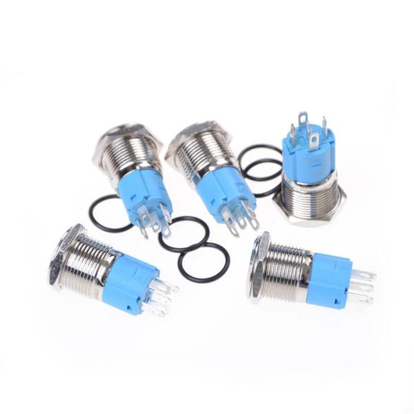 12v 16mm Högkvalitativa Metal Utility säljbara bilknappar