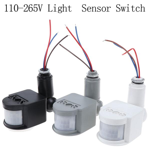 180 ° LED-infraröd PIR-rörelsesensordetektor Väggljusbrytare
