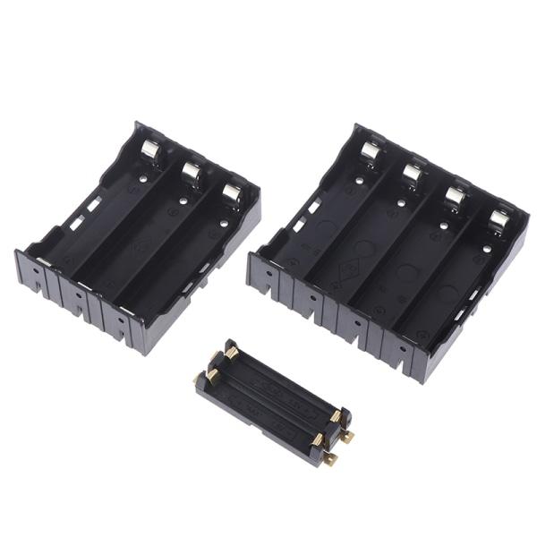 1PC 3,7V uppladdningsbart batterihållare 2X 3X 4X 18650 batterifodral