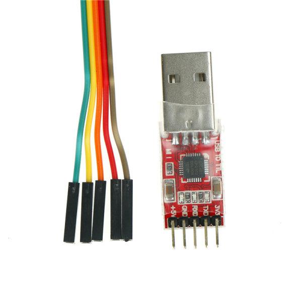 1 st CP2102-modul USB till TTL seriell omvandlare UART STC nedladdning
