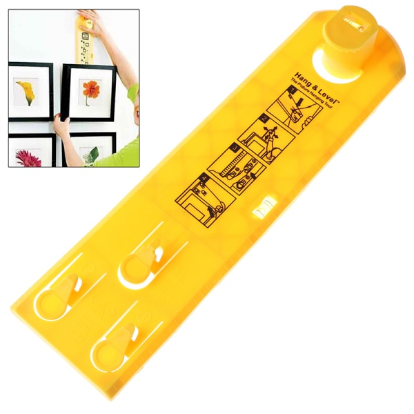 1Pc Hang and Level The Picture Hanging Tool hang & level Tool DI one size