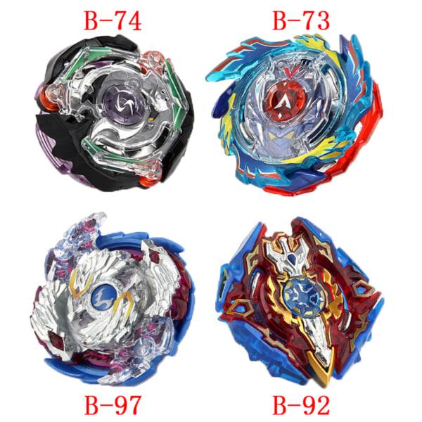1Set B73 B74 B92 B97 metall masters beyblade med lanseringsleksaker