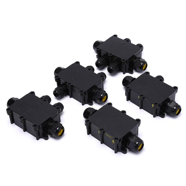 2/3/4/5/6 Way 450V IP68 Vattentät elektrisk kabeltrådanslutning