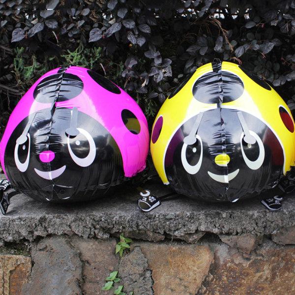 3 färger Walking Folie Beatles Ballong Helium Barnfest Bir