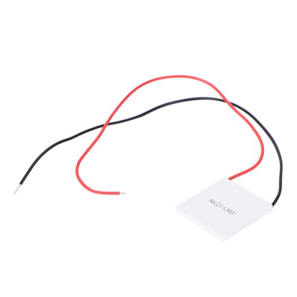 5PCS TEC1-12706 Heatsink Thermoelectric Cooler Cooling Peltier P White 40mm*40mm*3.8mm