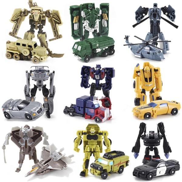 8 Types Car Transforming Robot Tobot Mini Series Boy Kid Toy Gif B