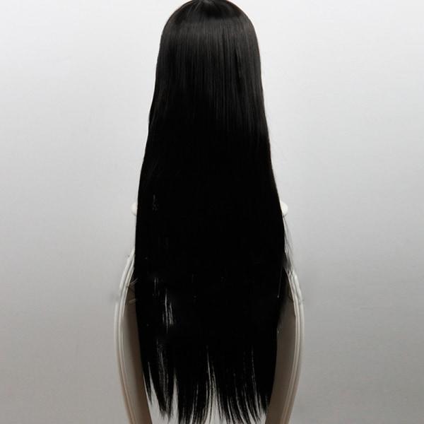 Anime Cartoon Characters Jabami Yumeko Black Long Straight Wig C