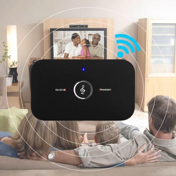 Bluetooth Wireless Audio Transmitter Receiver HiFi Music Adapter 10*20*20