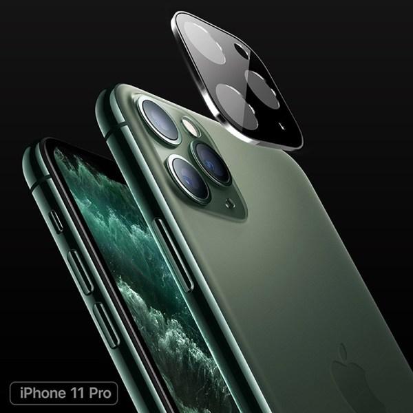 Kameralinsskärmskydd för iPhone 11 Pro Max Tempered Gla
