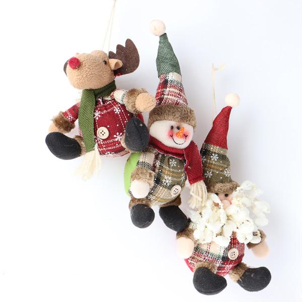 Julgransdekorationer Älg Santa Snowman Decoration Kids Ne