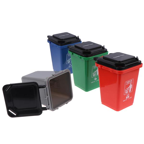 Återanvändning av skräpavfall kan ställa in sopbil med blyertsmugghållare