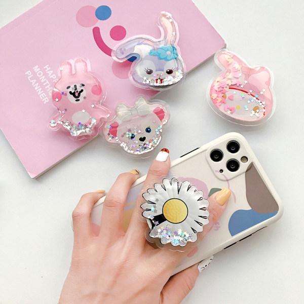 Söt kvicksand flytande telefonhållare bärbar fäste justerbar