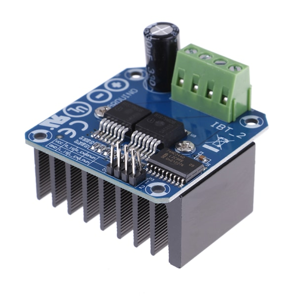 Double BTS7960B DC 43A Stepper Motor Driver H-Bridge PWM For Ard one size