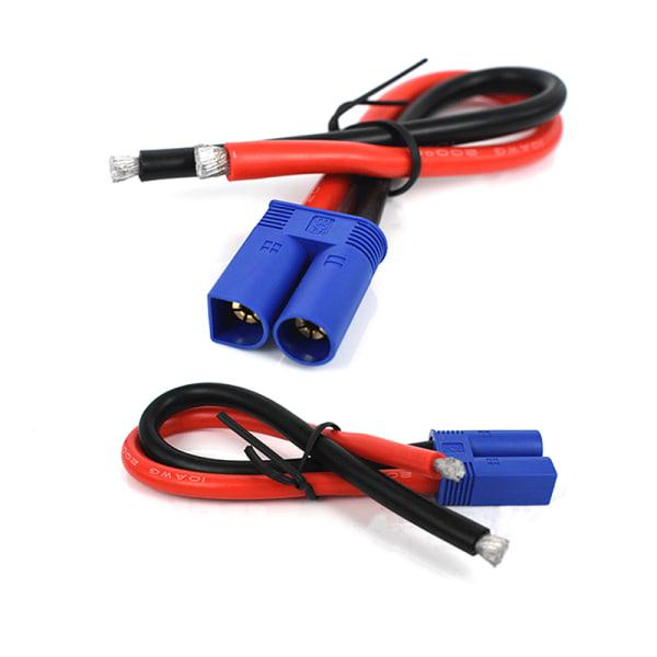 EC5 hankontakttrådsgrisstångkabel för RC-batteriladdare F