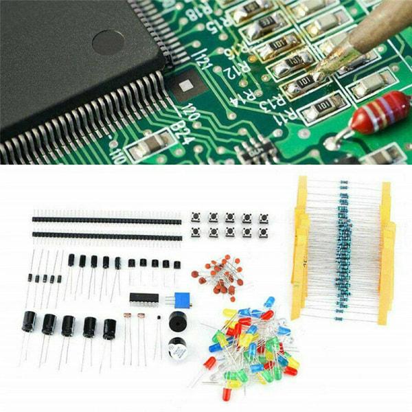Electronics Component Basic Starter Kit w/830 tie-points Breadbo
