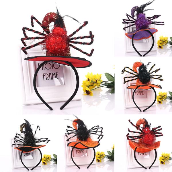 Halloween Spider Headband Holiday Party Pumpkin Decoration Witc
