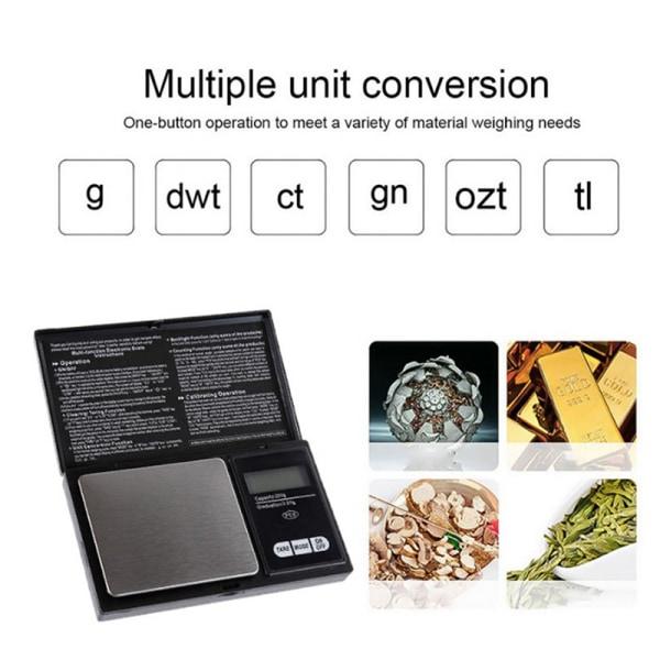 High Precision 0.01g Digital Kitchen Scale Balance Weight Gram  onesize