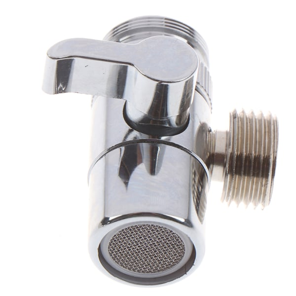 Home Kitchen Faucet Valve Diverter Sink Valve Water Tap Faucet  One Size