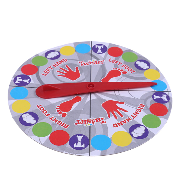 Indoor fun twister game toy outdoor sports moves interaction ga One Size