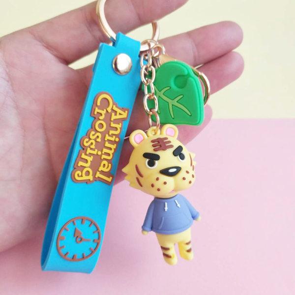 Japan Animal Crossing Silica Gel Nyckelringar Animal Crossing Pend