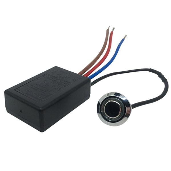 LD-600S Inbyggd 3-vägs fingertouchdimmer PÅ / AV-omkopplare USA EU