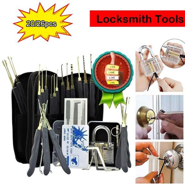 Lock Pick Locksmith Training Skill Set Transparent Practice Loc A