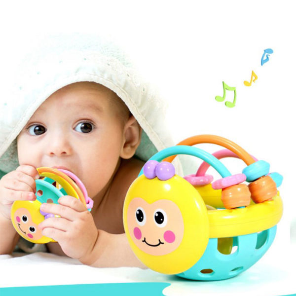 Lovely Baby Intelligence Ability Bath Toys Rattles Fun Little Lo onesize