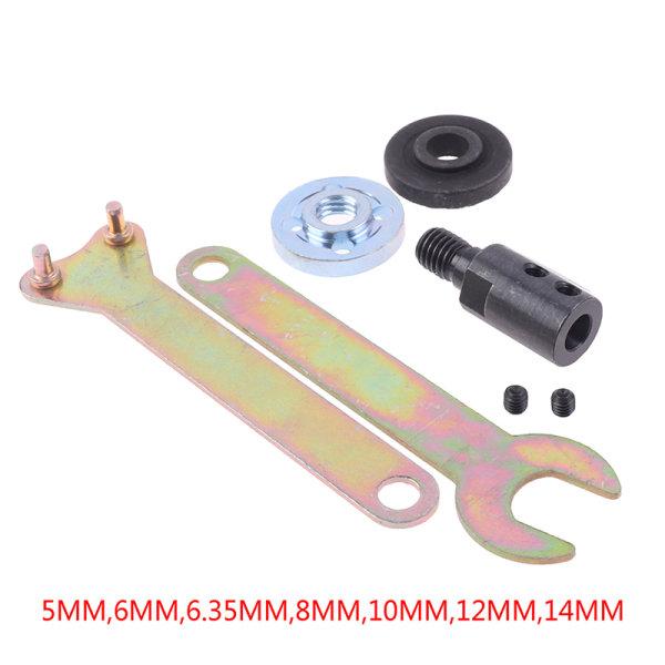 M10 borrsåg Spindelchuck Adapter Slipning Polering Axel Co