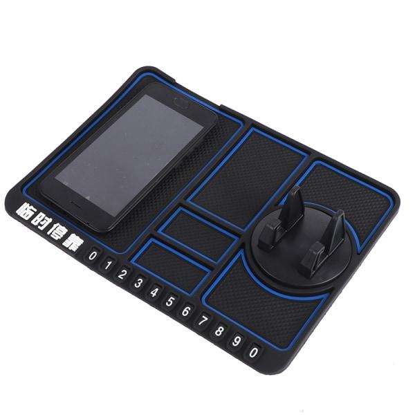 Multifunktionell bil Anti-Slip Mat Auto Telefonhållare Silikon Anti