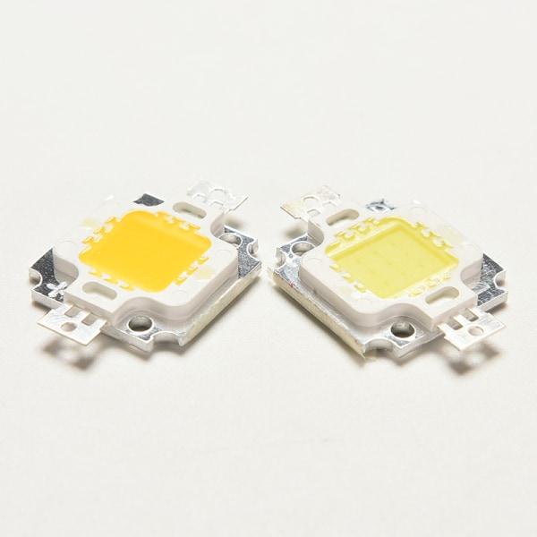 Ny 10W Cool / Warm White High Power 30Mil SMD Led Chip Flood Lig