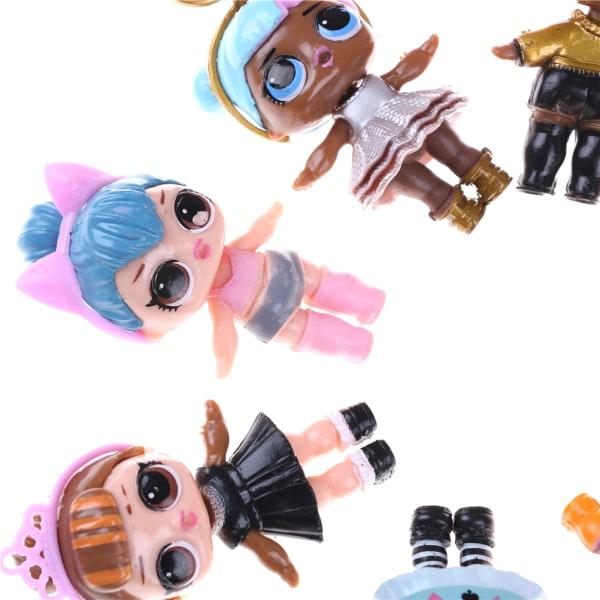 New 8pcs/set LOL Doll 8-9CM SURPRISE DOLL Baby Change Egg Figure 0 1