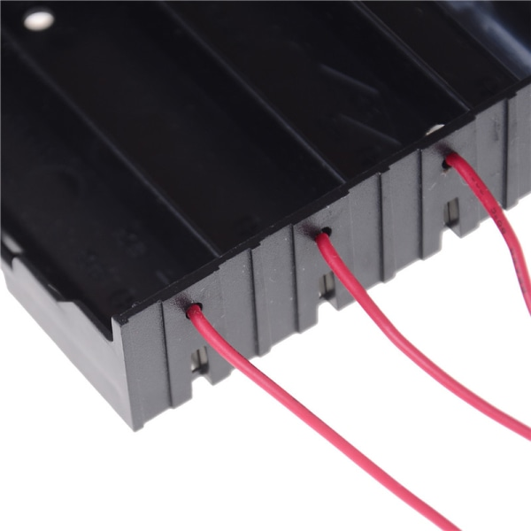 Plastic Battery Holder Storage Box Case For 4x 18650 Rechargeabl One Size