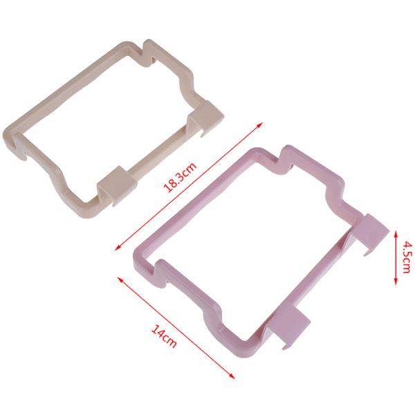 Plastavfallspåse Rack Bärbart hängande papperskorgssats