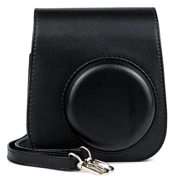 Portable Camera Case Bag Holder PU Leather with ShoulderStrap f