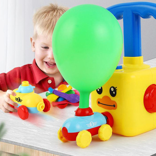 Powered Balloon Car Kids Gift Education Science Experiment Fun
