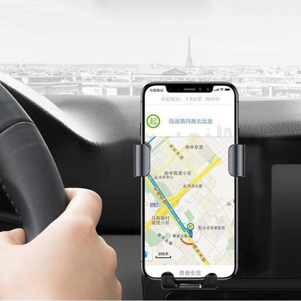 Qi Wireless Fast Charger Car Mount Automatic Infrared Sensor Cha One size