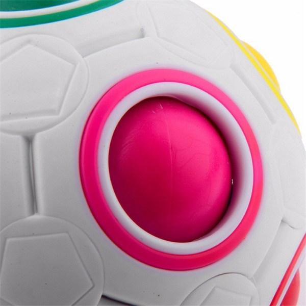 Rainbow Magic Ball Plastic Cube Twist Puzzle Children''s Educat