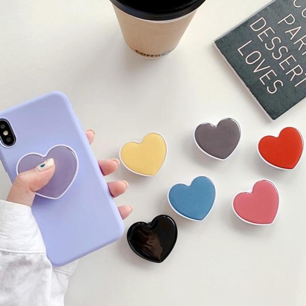 Universal mobiltelefon hjärtfäste Telefon krockkudde expanderande Sta
