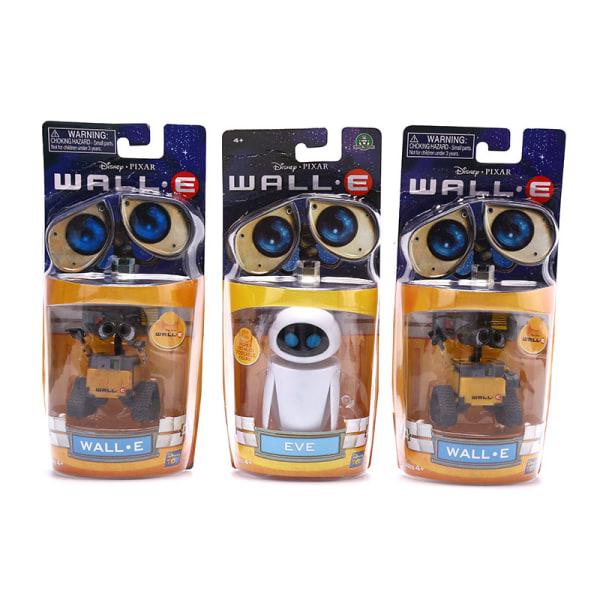 Wall-E Robot Wall E & EVE PVC Action Figure Collection Model Toy A