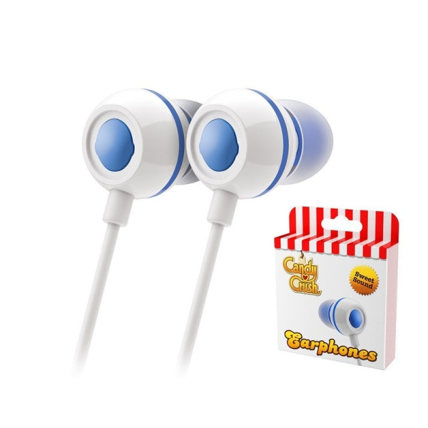 Candy Crush Sweet Earphones - Blueberry