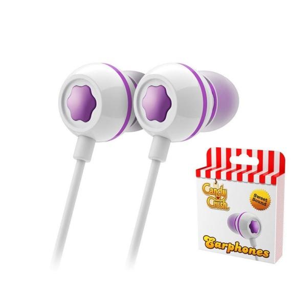 Candy Crush Sweet Earphones - Grape